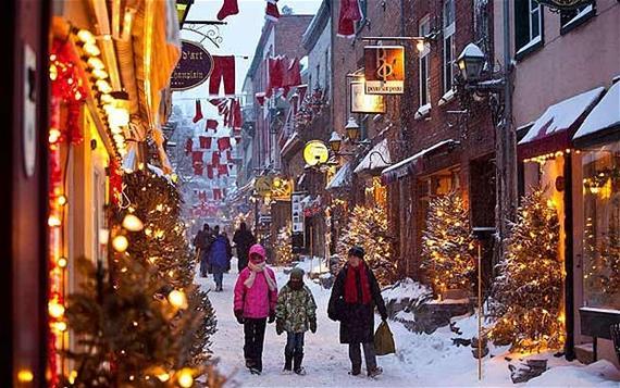 Рождество в Квебеке