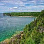 Полуостров Брюс Национальный Парк Канады