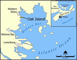 остров Оук